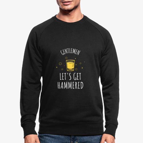 funny bachelor party | lustiges Junggeselle-Party - Männer Bio-Sweatshirt