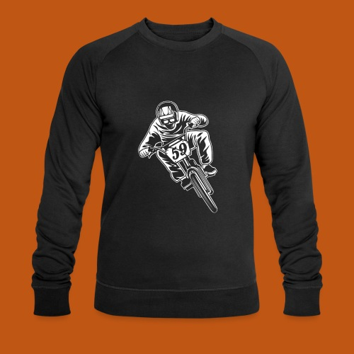 BMX Fahrrad / Bike 02_weiß - Männer Bio-Sweatshirt von Stanley & Stella