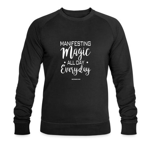 Manifesting Magic Black Edition - Männer Bio-Sweatshirt von Stanley & Stella