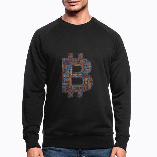 bitcoin - Men's Organic Sweatshirt