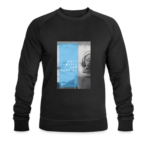 Only Music - Mannen bio sweatshirt