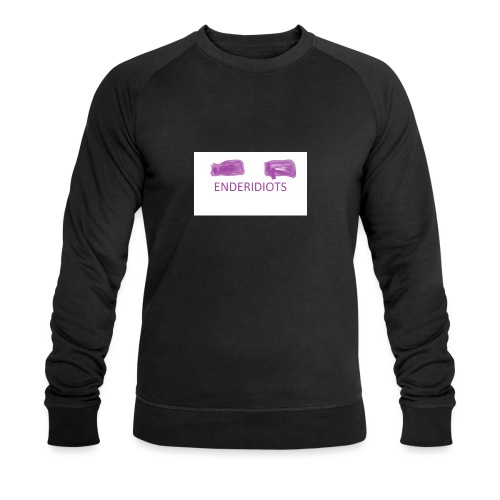 enderproductions enderidiots design - Men's Organic Sweatshirt by Stanley & Stella