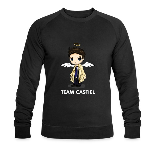 Team Castiel (dark) - Men's Organic Sweatshirt by Stanley & Stella