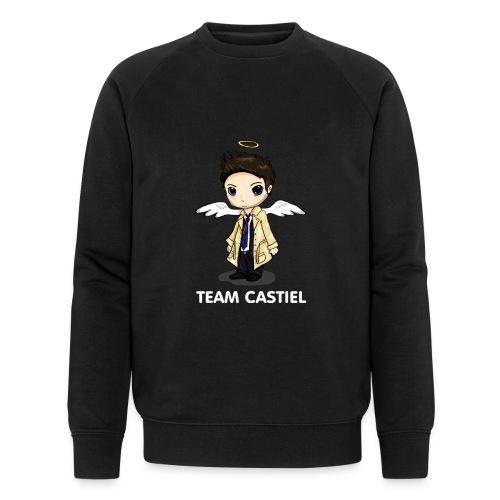Team Castiel (dark) - Men's Organic Sweatshirt