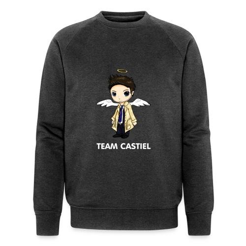 Team Castiel (dark) - Men's Organic Sweatshirt by Stanley & Stella