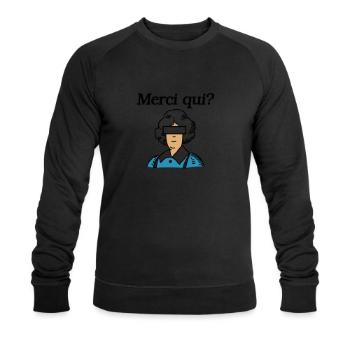 Merci qui - Sweat-shirt bio