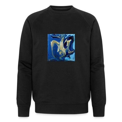 TIAN GREEN Welt Mosaik - AT042 Blue Passion - Männer Bio-Sweatshirt von Stanley & Stella