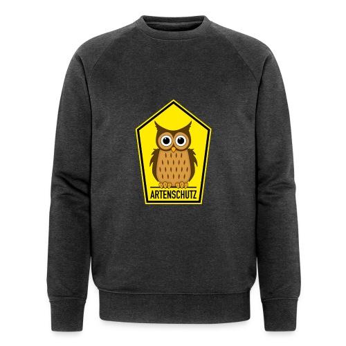 Alte Eule unter Artenschutz - Männer Bio-Sweatshirt von Stanley & Stella