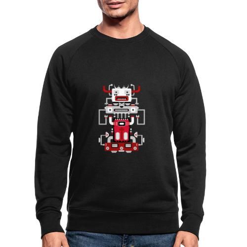 Robots Totem - Sweat-shirt bio