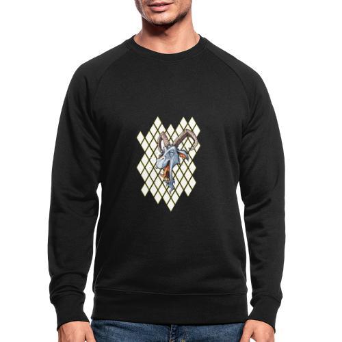 blauer bock - Männer Bio-Sweatshirt