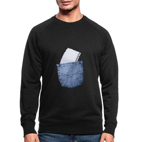 Jeans Baggy by #OneCreativeArts - Männer Bio-Sweatshirt