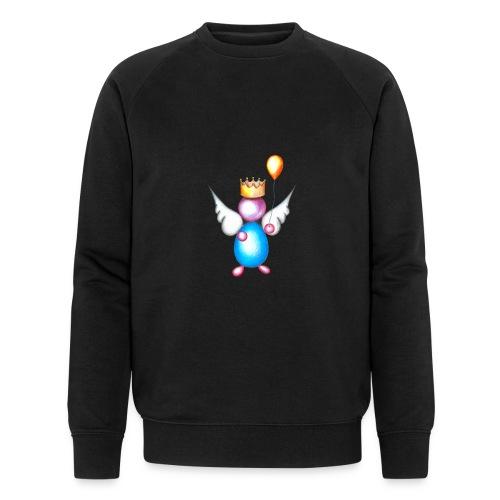 Mettalic Angel happiness - Sweat-shirt bio