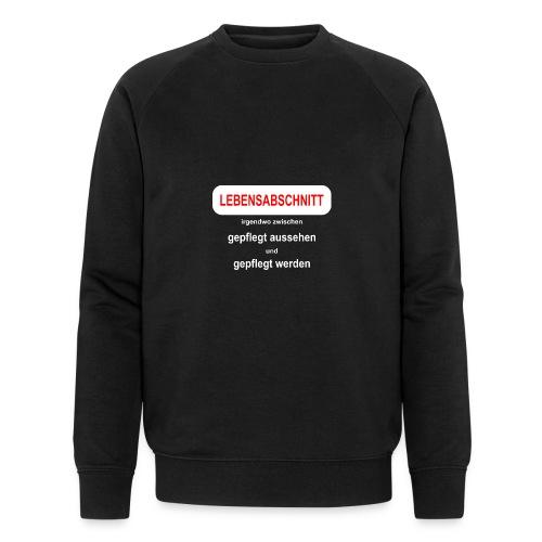 midlife crises Geburtstagsgeschenk Idee - Männer Bio-Sweatshirt