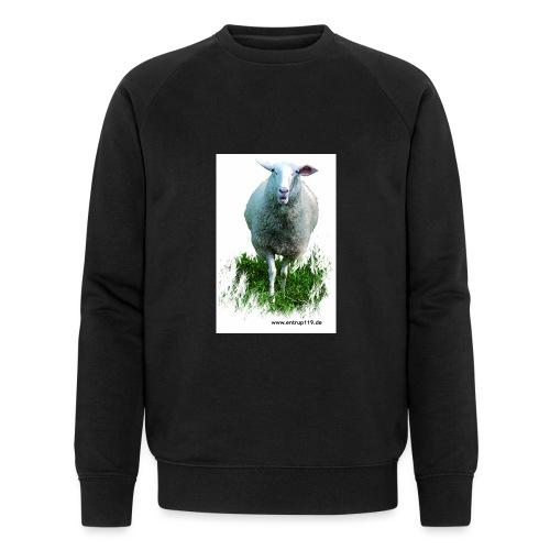 Gemaltes Entrup Schaf - Männer Bio-Sweatshirt von Stanley & Stella
