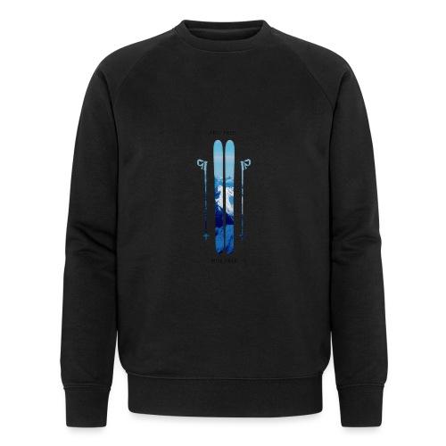 Freeski - Black - Männer Bio-Sweatshirt