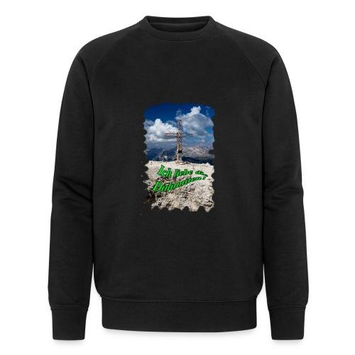 Sass Pordoi - Männer Bio-Sweatshirt von Stanley & Stella