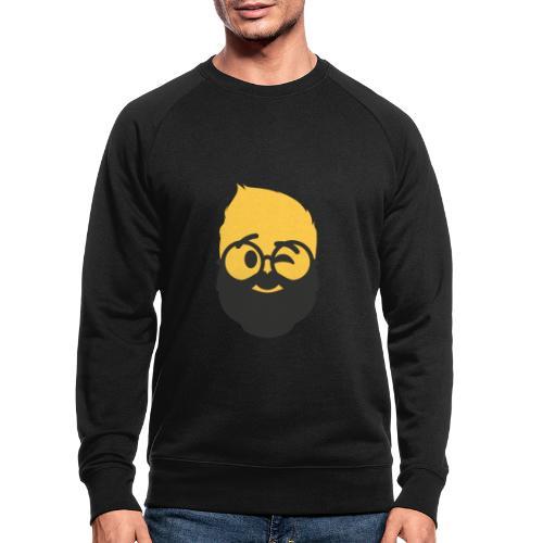 Dougsteins Wink Inverse by Dougsteins - Men's Organic Sweatshirt