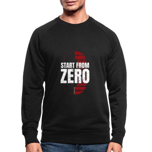 Start from ZERO - Men's Organic Sweatshirt
