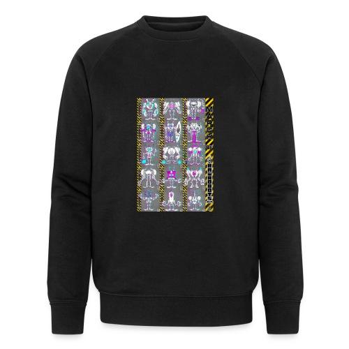#MarchOfRobots ! NR 16-30 - Økologisk sweatshirt til herrer