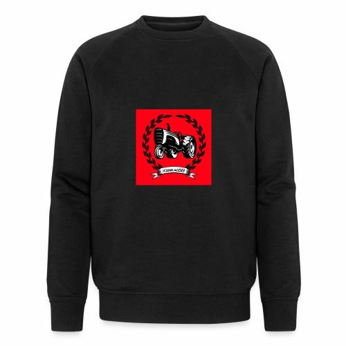 KonradSB czerwony - Ekologiczna bluza męska
