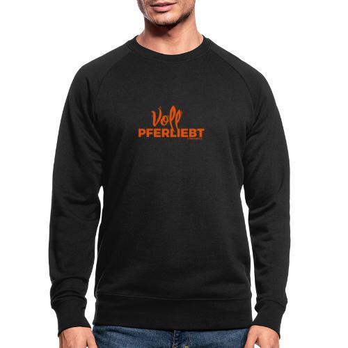Voll Pferdliebt! - Männer Bio-Sweatshirt von Stanley & Stella