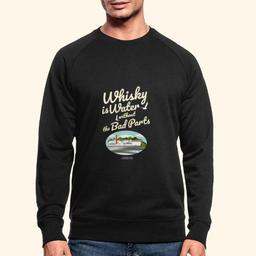 Whisky Is Water Brennerei - Männer Bio-Sweatshirt