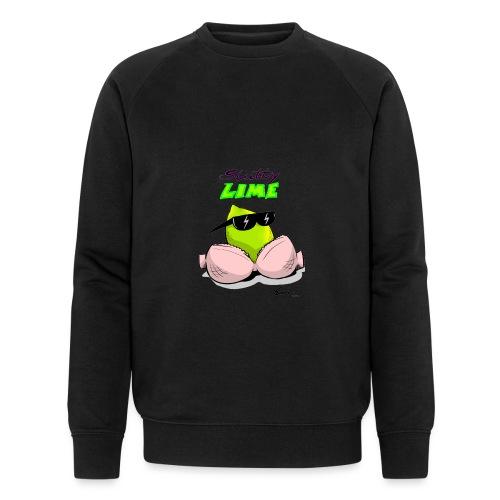 Slutty Lime - Økologisk sweatshirt til herrer