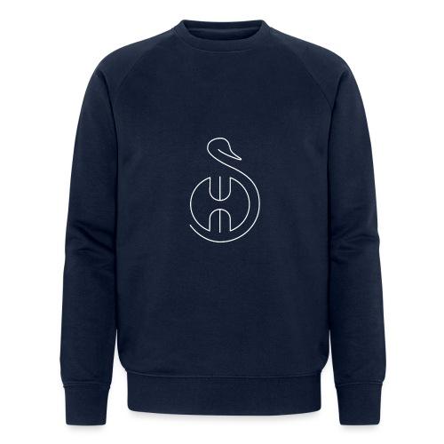 Logo white Swom - Sweat-shirt bio