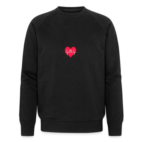 I love my Bike - Men's Organic Sweatshirt by Stanley & Stella