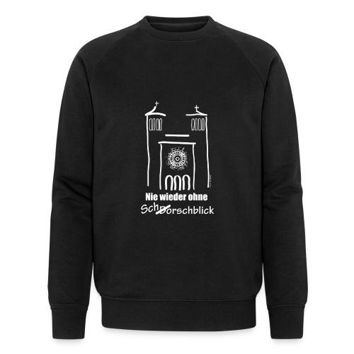 Schorschblick weiss - Männer Bio-Sweatshirt von Stanley & Stella