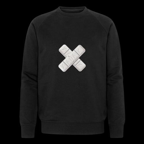 Xanax X Logo - Männer Bio-Sweatshirt von Stanley & Stella
