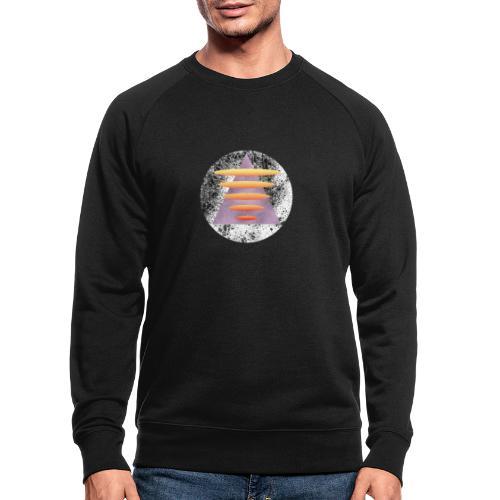 Triangle Gate - Økologisk sweatshirt for menn
