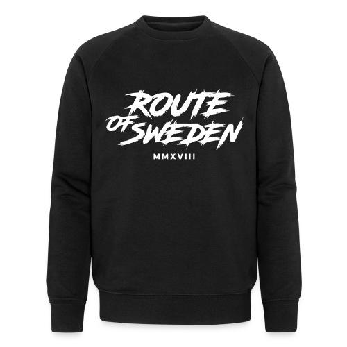rouet of sweden logo - Ekologisk sweatshirt herr