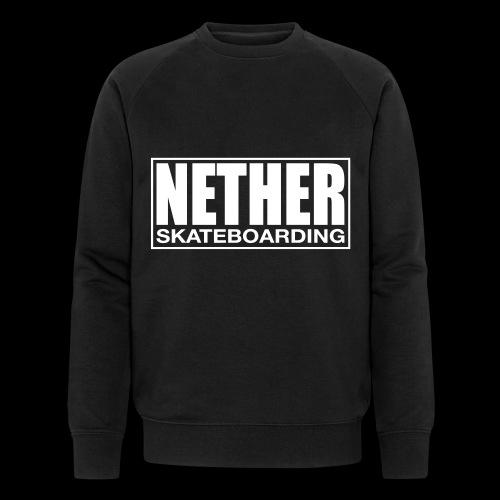 Nether Skateboarding T-shirt Black - Felpa ecologica da uomo