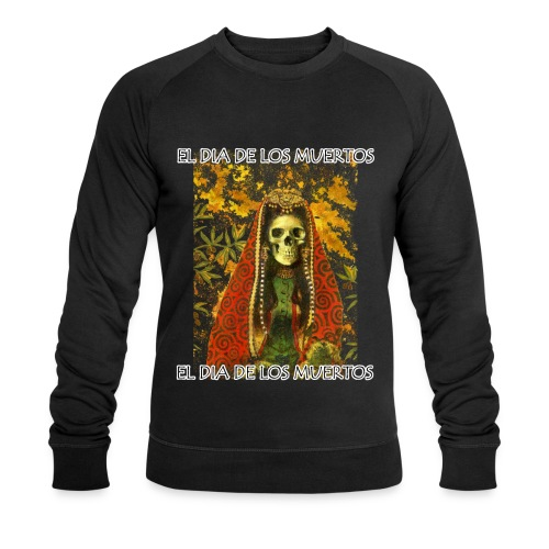 El Dia De Los Muertos Skeleton Design - Men's Organic Sweatshirt by Stanley & Stella