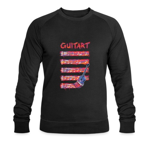 GuitArt - Men's Organic Sweatshirt by Stanley & Stella