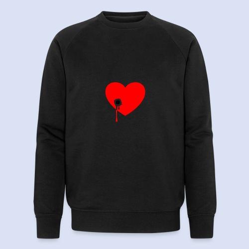 Cœur troué - Sweat-shirt bio Stanley & Stella Homme