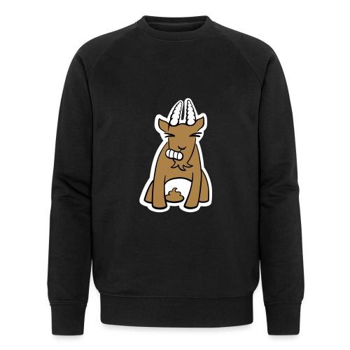 Scheissbock - Männer Bio-Sweatshirt von Stanley & Stella