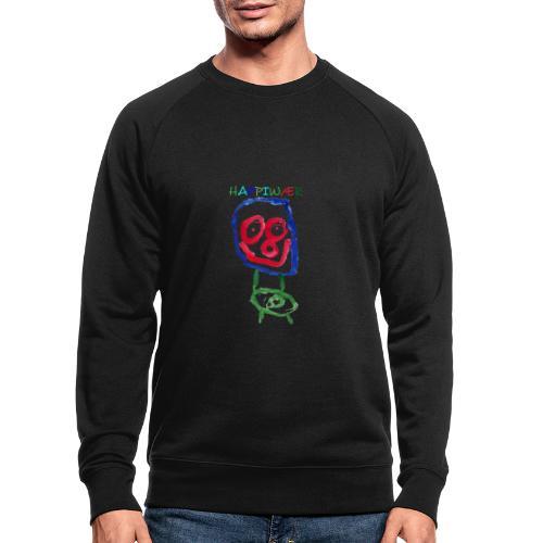 happiwær2 - Økologisk sweatshirt til herrer