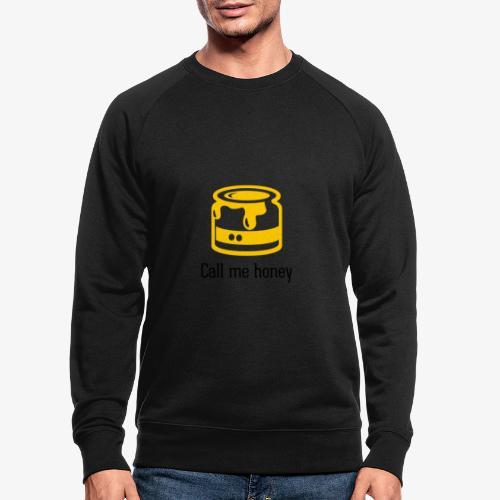 Honey - Männer Bio-Sweatshirt
