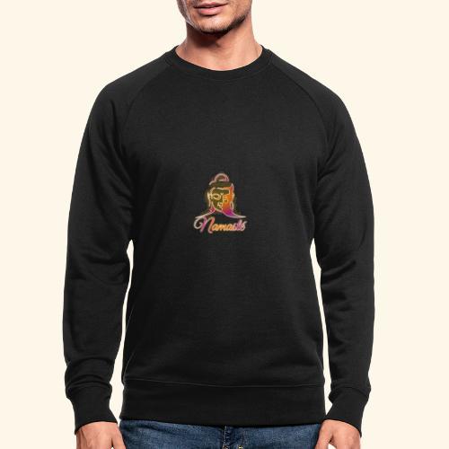 Buddha - Namasté - Männer Bio-Sweatshirt