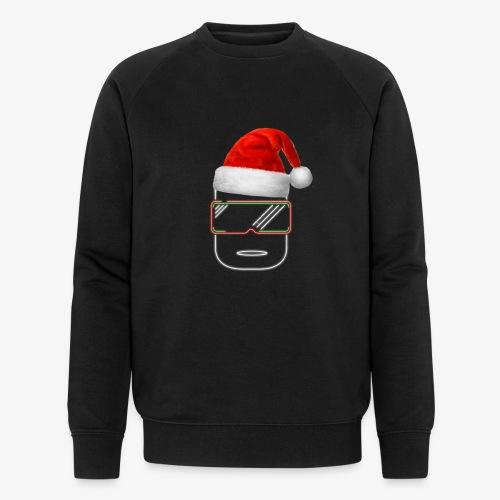 Die Zock Stube - Robot-Head Christmas - Männer Bio-Sweatshirt von Stanley & Stella