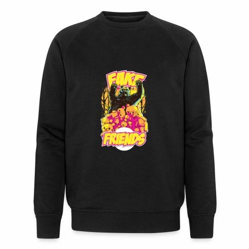 Fake Friends - Männer Bio-Sweatshirt