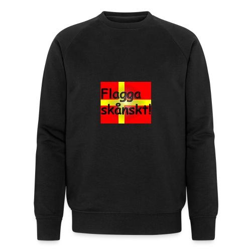Flagga skånskt! - Ekologisk sweatshirt herr från Stanley & Stella