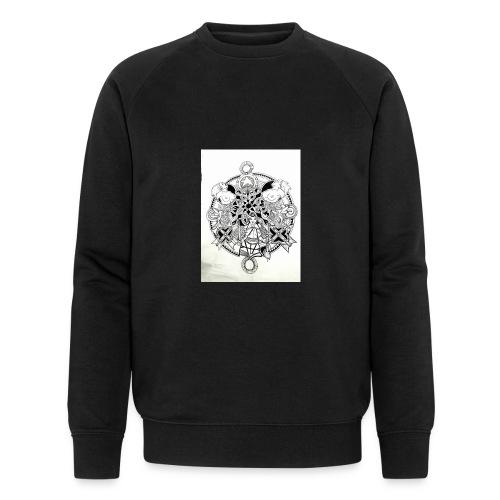 guerriere celtique entrelacs bretagne femme - Sweat-shirt bio