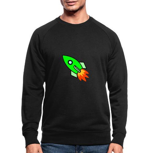 neon green - Men's Organic Sweatshirt