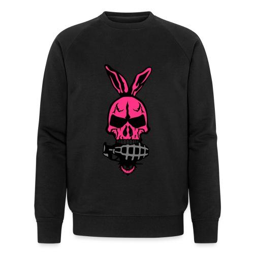 tete mort oreille lapin skull grenade 1 - Sweat-shirt bio