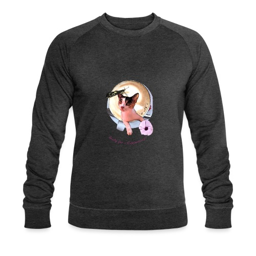 Ready for a cappuchino? - Men's Organic Sweatshirt by Stanley & Stella