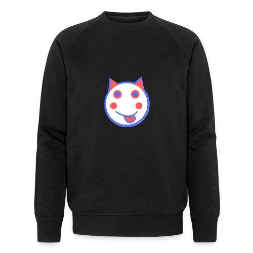 Red White And Blue - Alf Da Cat - Men's Organic Sweatshirt by Stanley & Stella