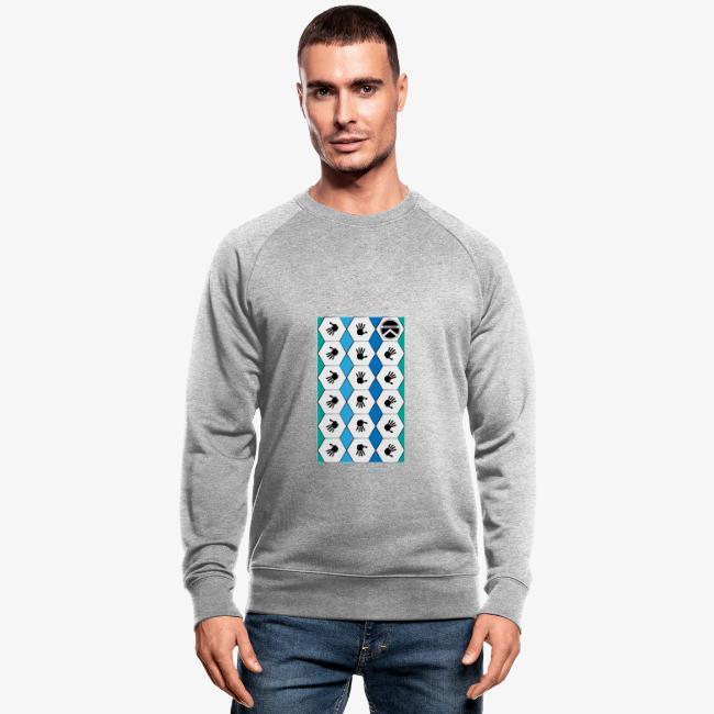  K·CLOTHES  HEXAGON ESSENCE BLUES & WHITE